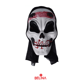 Máscara De Calavera Halloween 28x18x10cm