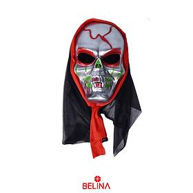 Máscara De Calavera Halloween 26x17x10cm