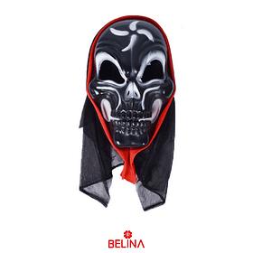 Máscara De Calavera Halloween 26x15,5x10cm