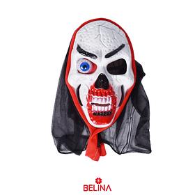 Máscara Halloween 28x17x10cm