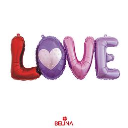 Globo Metalico Love