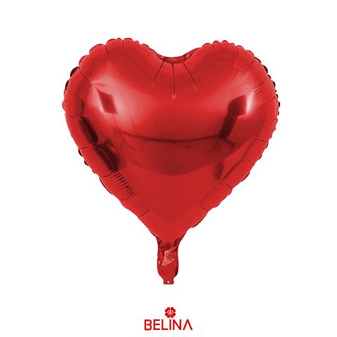 Globo Corazon Rojo 18