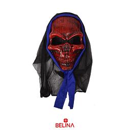 Máscara Halloween Calavera 24.5x16x6cm