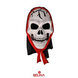 Máscara Halloween Calavera Fantasma 23x16,5x7cm