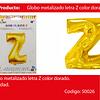 Globo Letra Z Oro 16 Pulgadas