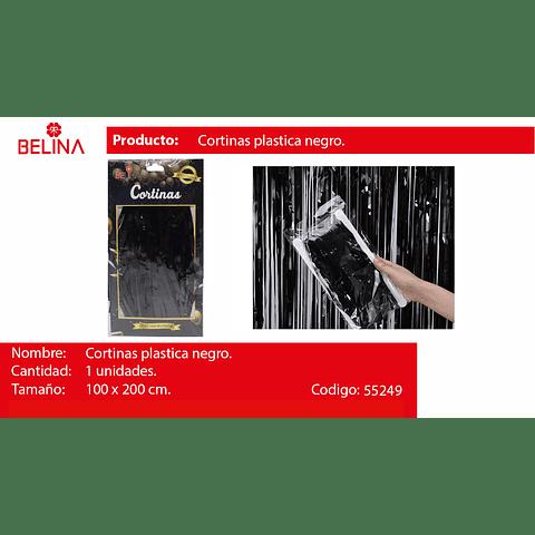 Cortina Negra 100cmx200cm