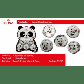 Capaciilos panda 120pcs