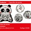 Capaciilos Oso Panda 120pcs