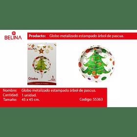 Globo redondo arbol de navidad 18
