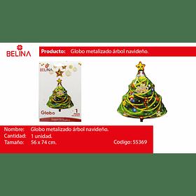 Globo arbol de navidad 56*74cm