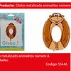 Globo Numero 0 Mono 30x46cm