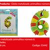 Globo Numero 6 Rana 30x46cm