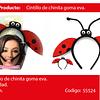 Cintillo De Mariquita Ladybug 1pcs