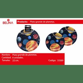 Plato grande de planetas