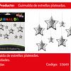 Guirnalda Estrella Plateada 11pcs