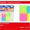 Sorpresa Resorte Colores 4pcs