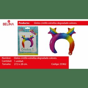 Cintillo de globo de colores 27.5*28cm