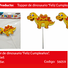 Topper Dinosaurio 1pcs