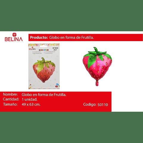 Globo frutilla 24.8