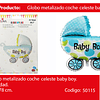 Globo Coche Azul 30.7
