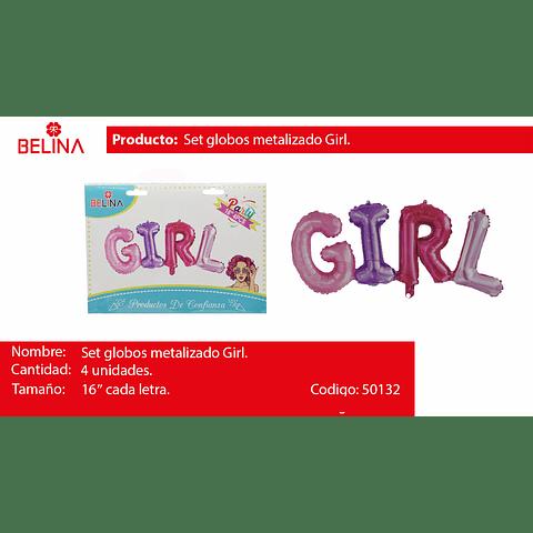 Globo girl 16 pulgadas