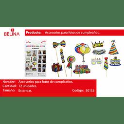 Accesorios fotos cumpleaños