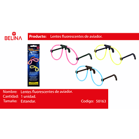 Lentes luminoso aviador