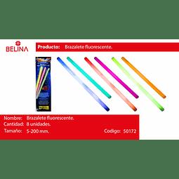 PULSERA LUMINOSA 8 PCS