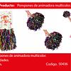 Pompones Animadora Colores