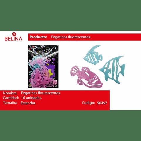 Sticker fluor de peces