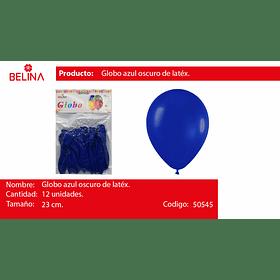 Globo azul 12 unid