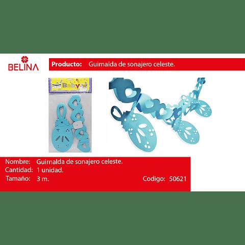 Guirnalda De Sonajero Azul