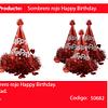 Gorro De Cumpleaños Rojo
