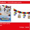 Guirnalda de papel party