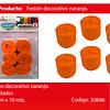 Feston Fino Naranja 6pcs 2.5cmx10m
