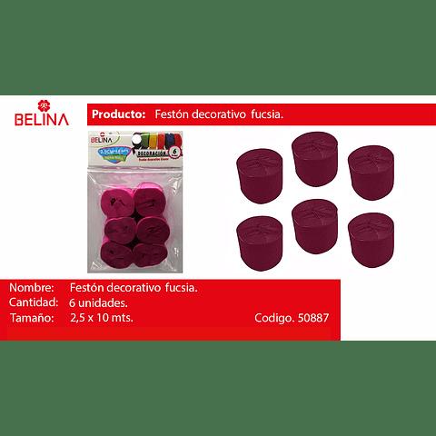 Feston Fino Fuccia 6pcs 2.5cmx10m
