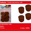 Feston Fino Cafe 6pcs 2.5cmx10m
