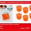 Feston naranja 1pc 5cmx20m