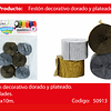 Feston Fino Oro Y Plata 6pcs