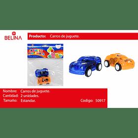 JUGUETE AUTOS 2PCS