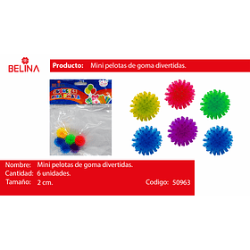 Juguetes mini pelotas divertidas