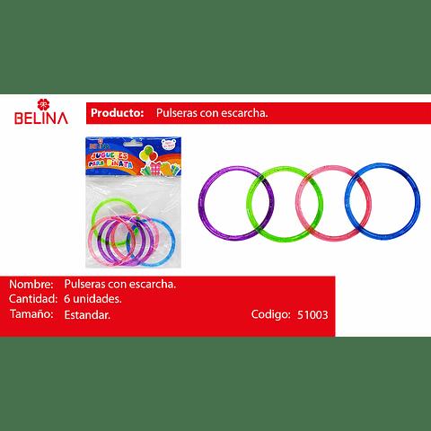 Juguete pulseras multicolor