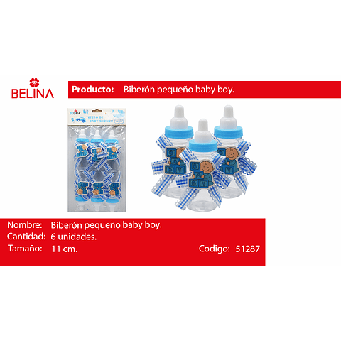 Biberon baby azul