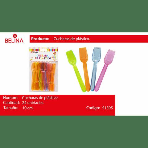 Cucharitas de plastico