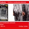 Cortinas Metalicas 3m Plata