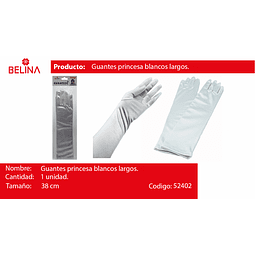 Guantes Blancos 38cm