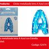 Globo Letra A Azul 16 Pulgadas