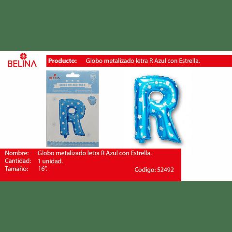 Letra azul 16r