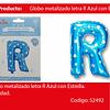 Globo letra azul 16r