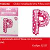Globo Letra P Rosa 16 Pulgadas